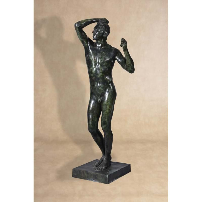 August Rodin (1840-1917), The Age of Bronze, 20th century cast after a model from 1877