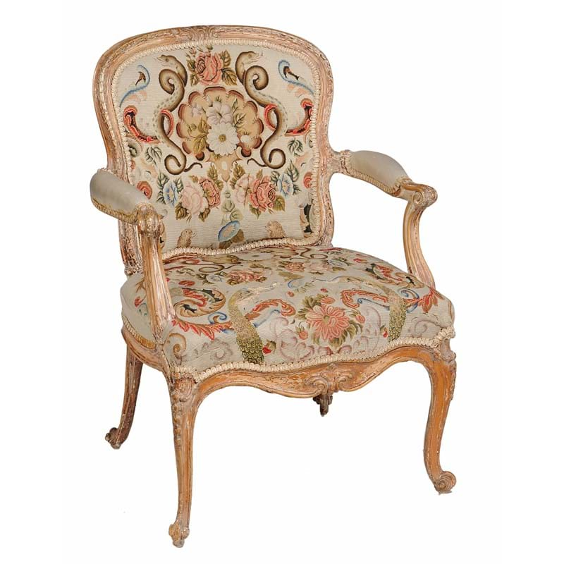 A George III armchair, circa 1770, in the manner of Linnell | The Collection of the late Ian Askew