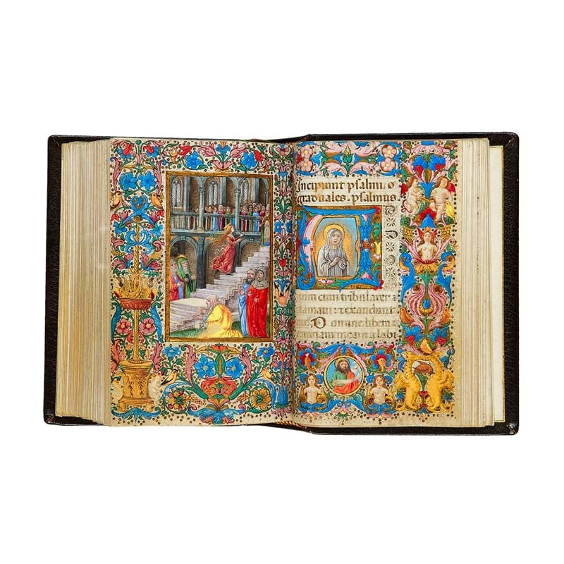 The Hours of Isabella d'Este, Use of Rome, in Latin, opulently illuminated manuscript on parchment, [Italy (Forence), c. 1490]