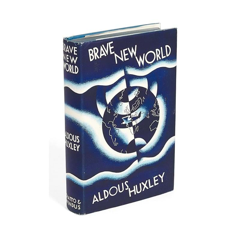 Aldous Huxley, Brave New World, first edition, signed by the author [London, Chatto & Windus, 1932]