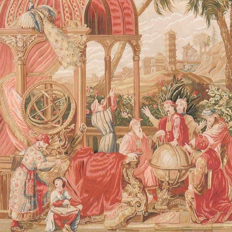 A woven wool tapestry in 18th century Chinoiserie taste | In Search of the Aesthetic: Two International Private Collections