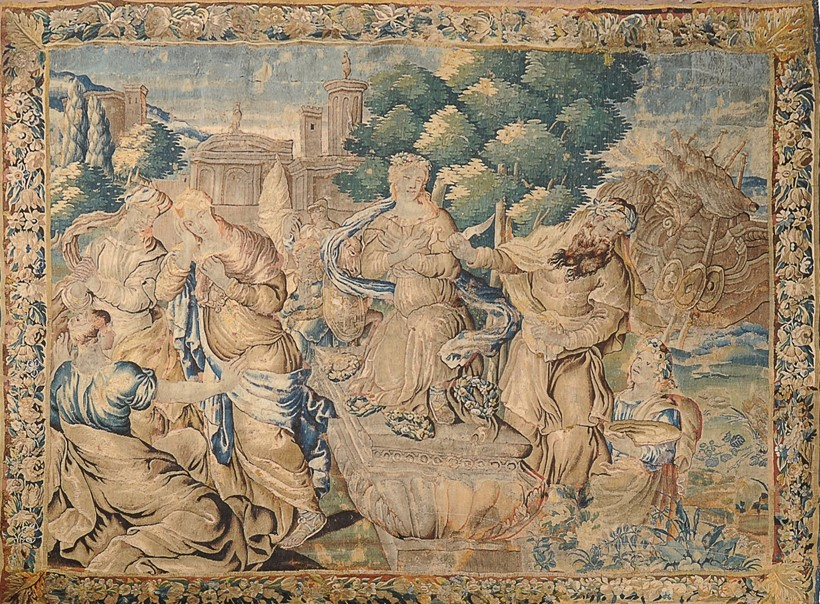 Inline Image - A Flemish woven wool figural tapestry, est. £4,000-6,000 (+fees)
