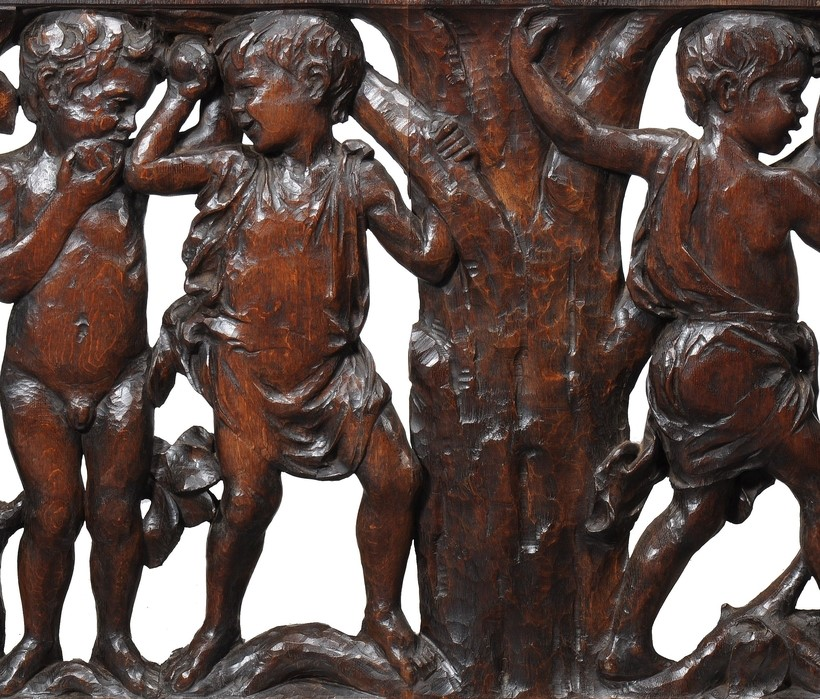Inline Image - A pair of Arts & Crafts carved oak panels, circa 1900; est. £3,000-4,000 (+fees)