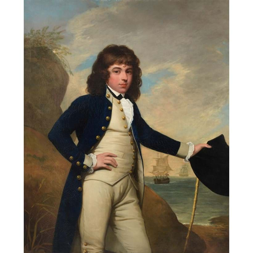 Inline Image - Attributed to Mather Brown (American 1761-1831), Portrait of William Leybourne, oil on canvas; est. £7,000-10,000, sold for £15,000