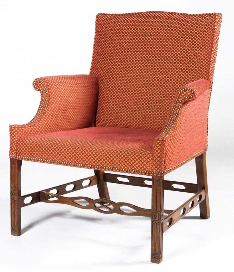 Inline Image - Lot 82, George III mahogany armchair, circa 1770; est. £2,000-3,000 (+fees)