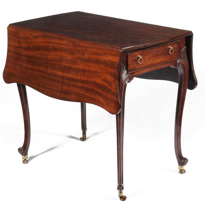 Inline Image - Lot 47, George III mahogany 'butterfly' Pembroke table  attributed to Thomas Chippendale, circa 1770; est. £5,000-7,000 (+fees)
