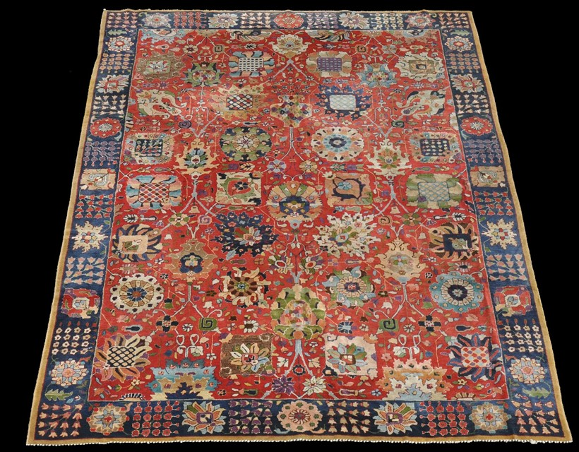 Inline Image - Lot 10, Tetex carpet, approx. 294 x 202cm; est. £1,000-1,500 (+ fees)
