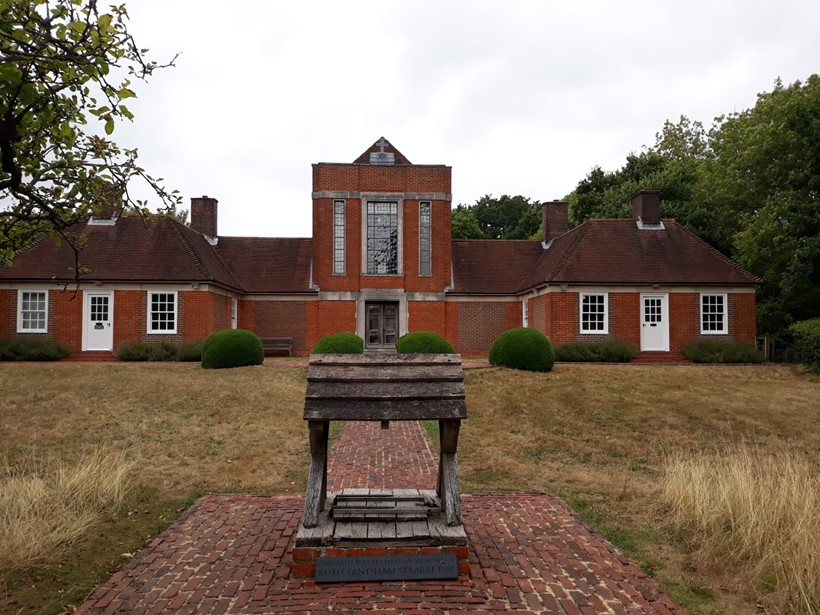 Inline Image - Sandham Memorial Chapel, in the village of Burghclere, Berkshire