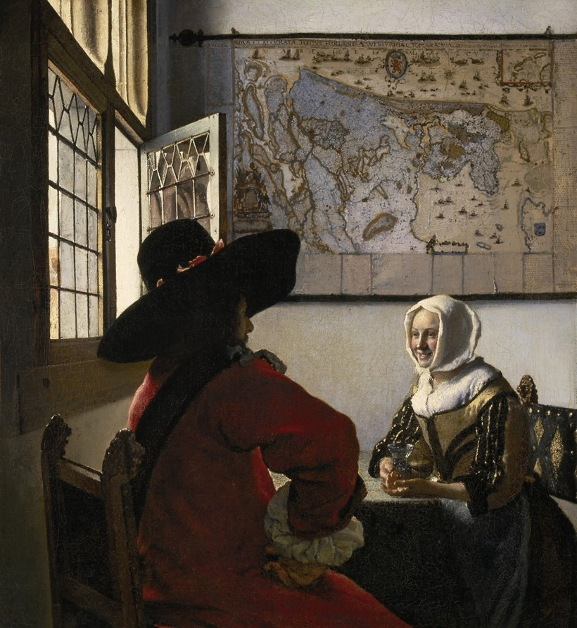 Inline Image - Johannes Vermeer, Officer and Laughing Girl, 1657 | Image courtesy of The Frick Collection, New York