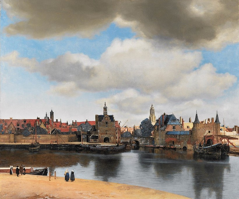 Inline Image - Johannes Vermeer, View of Delft, c. 1660-1661 | Image courtesy of Mauritshuis, The Hague