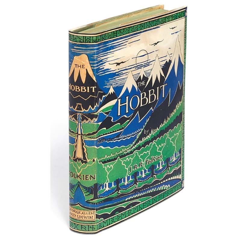 Inline Image - Lot 69, J.R.R. Tolkien, The Hobbit, or There and Back Again, first edition, first impression [London, George Allen & Unwin, 1937]; est. £25,000-35,000 (+fees)