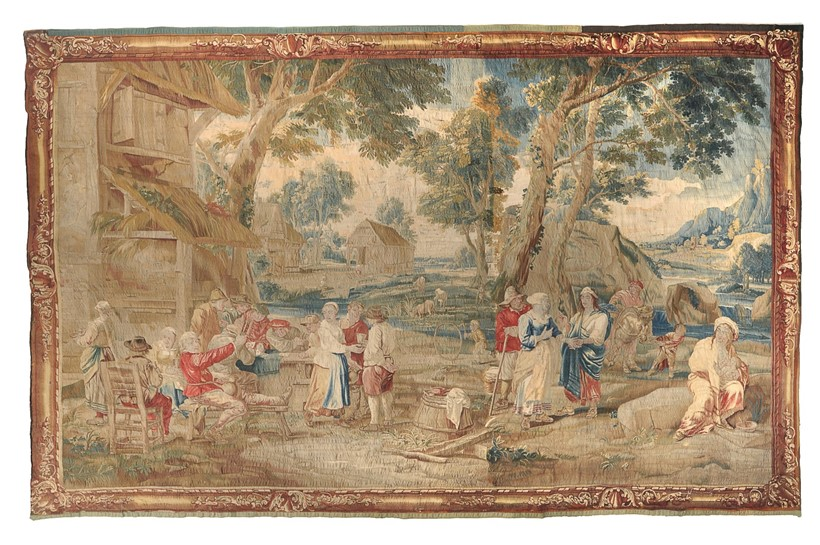 Inline Image - Lot 199, a fine Franco-Flemish tapestry, 18th century; est. £4,000-6,000 (+fees)
