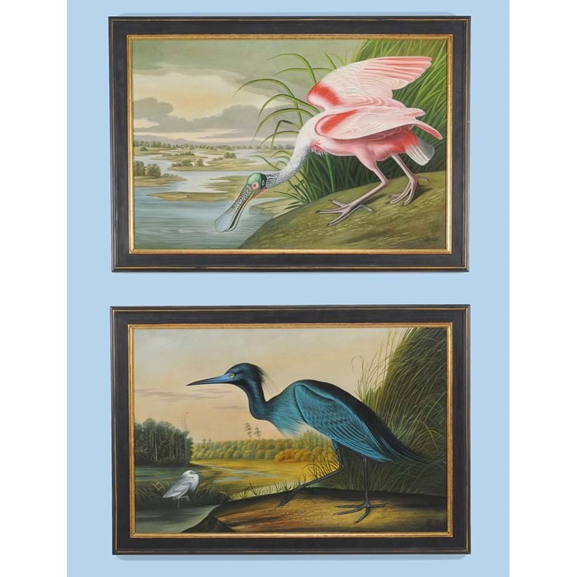 Inline Image - Lot 137, matched pair of paintings, 1735 and 1747; est. £800-1,200 (+fees)