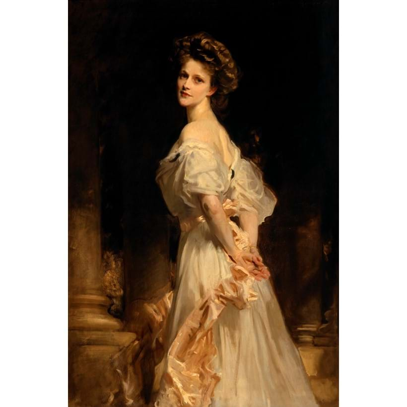 Inline Image - John Singer Sargent, RA (Florence 1856 - London 1925) Nancy Witcher Langhorne, Viscountess Astor CH, MP (1879-1964), oil painting on canvas | ©National Trust Images/John Hammond