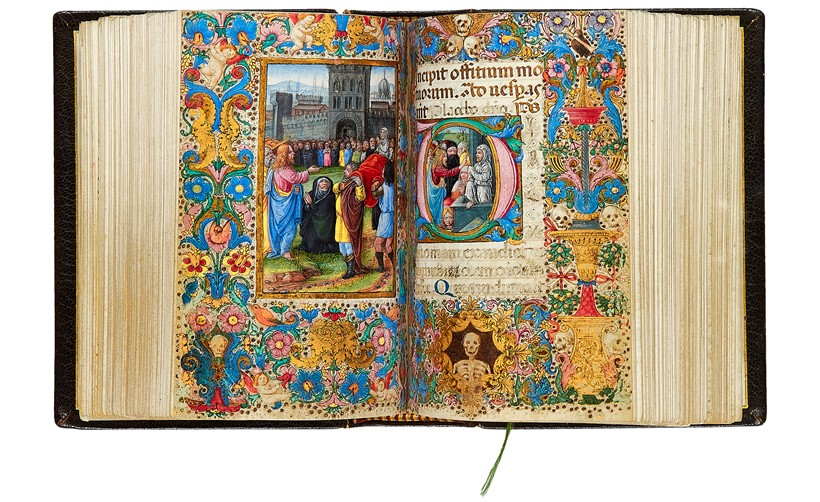 Inline Image - Lot 90, The Hours of Isabella d'Este, Use of Rome, in Latin  [Italy, (Florence), c. 1490] Est. £200,000-300,000, sold for £421,600  Western and Oriental Manuscripts and Miniatures, 10th July