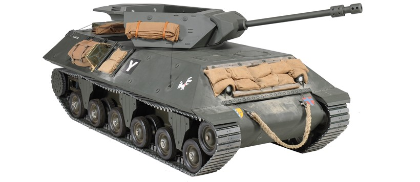 Inline Image - Model M10 Tank Destroyer, one-third scale, single-occupant vehicle | Est. £5,000-8,000 (+ fees)