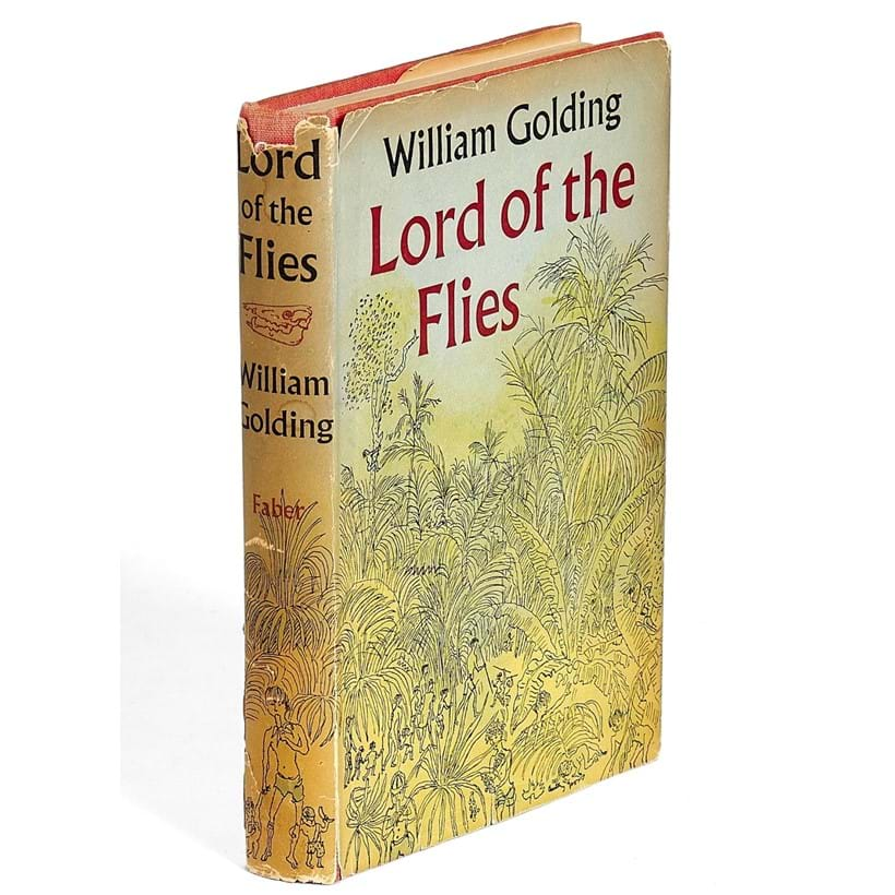 Inline Image - William Golding, Lord of the Flies | first edition, dedication copy signed by the author | London, Faber and Faber Ltd, 1954 | est. £3,000-4,000, sold for £11,250