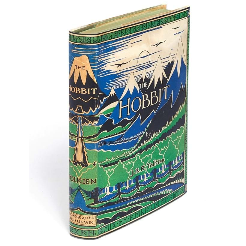 Inline Image - J.R.R. Tolkien, The Hobbit, or, There and Back Again | first edition, first impression | London, George Allen & Unwin, 1937 | est. £25,000-35,000, sold for £37,500