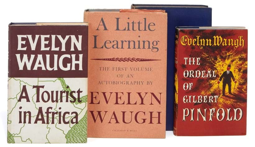 Inline Image - Evelyn Waugh, Vile Bodies (1930); A Handful of Dust (1934); Scoop... (1938); Scott-King's Modern Europe (1947); Helena (1950) | first editions, est. £100-150, sold for £595