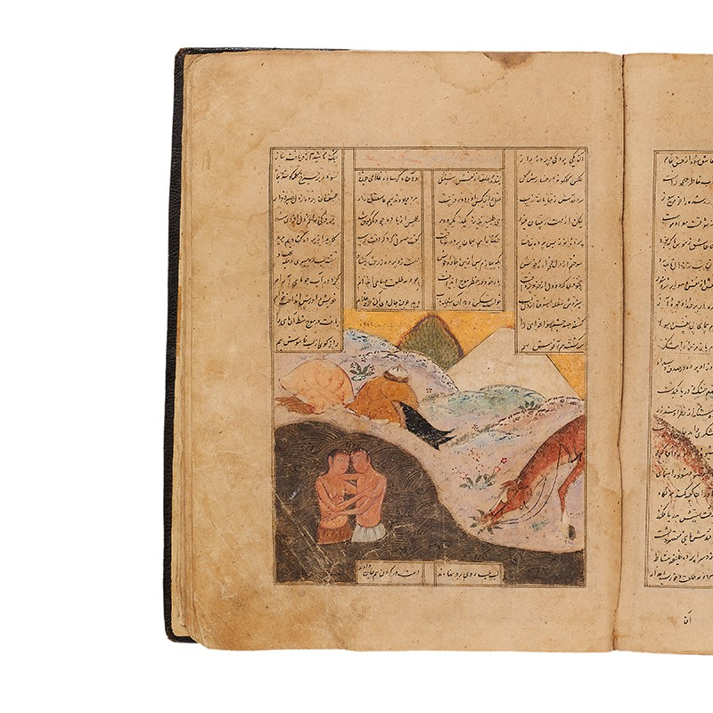 Nur ad-Din Abd'ul Rahman Jami, Haft Awrang, comprising 4 parts only, in Farsi, illuminated manuscript on paper [Timurid Persia, second half of fifteenth century]