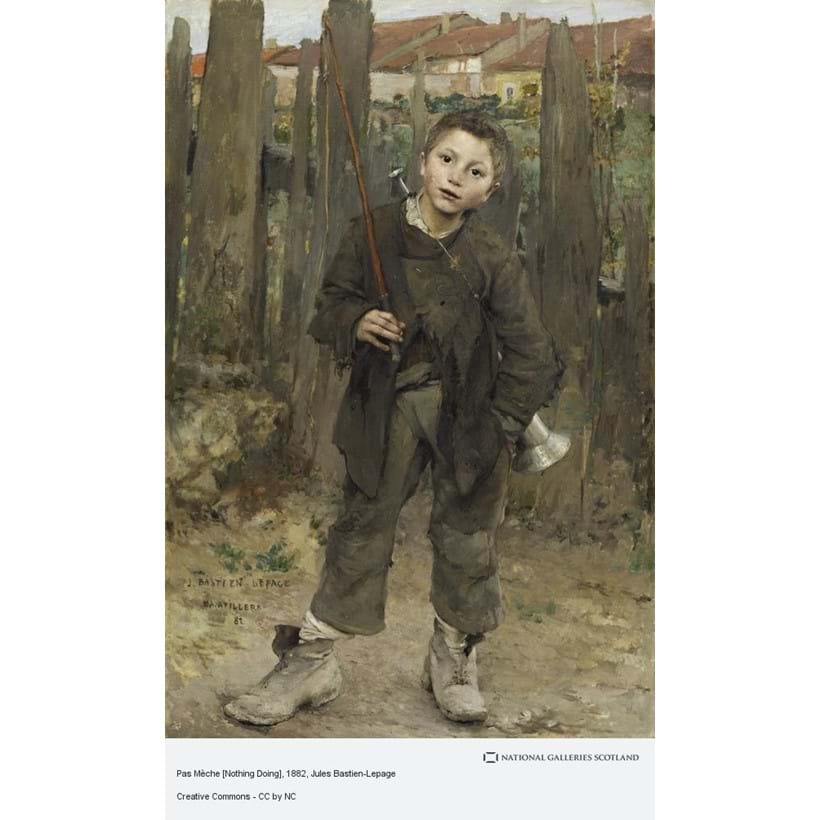 Inline Image - Jules Bastien-Lepage, Nothing Doing, Courtesy of National Galleries Scotland