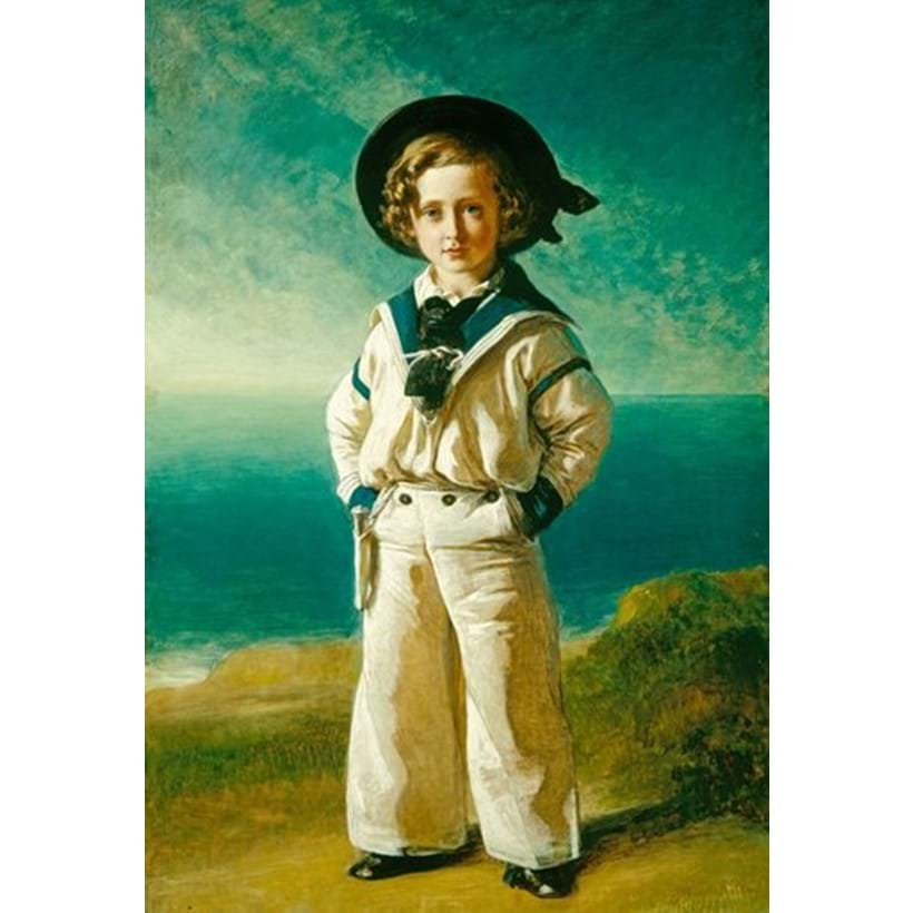 Inline Image - Franz Xaver Winterhalter (1805-73) King Edward VII (1841-1910), when Albert Edward, Prince of Wales. Courtesy of The Royal Collection