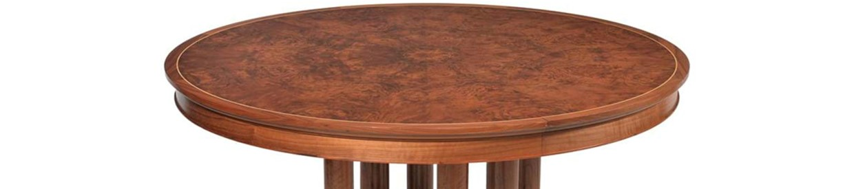 Classic David Linley dining table consigned to August's Interiors sale