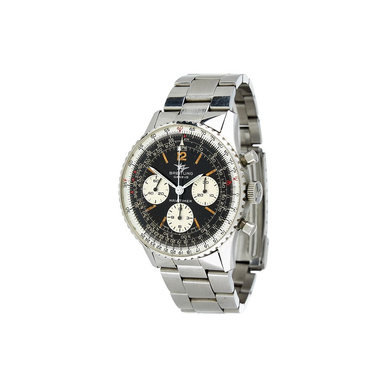 Breitling, Navitimer, ref. 806, a stainless steel bracelet watch, no. 1065473, circa 1968