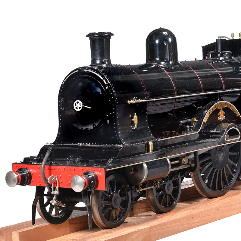 An extremely fine and historically important 9½ inch gauge model of the LNWR Precursor Class 4-4-0 locomotive and tender No 1941 'Alfred the Great'