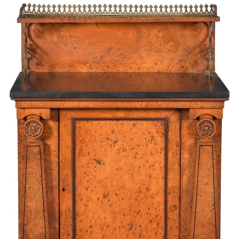 Library Cabinet & Ink Well in The Manner of George Bullock consigned to Fine Furniture sale