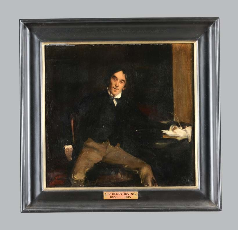 Inline Image - After Jules Bastien-Lepage (French 1848-1884) 'Portrait of Sir Henry Irving', Oil on canvas | Est. £5,000-7,000 (+fees) | Modern & Contemporary Art,  16 October