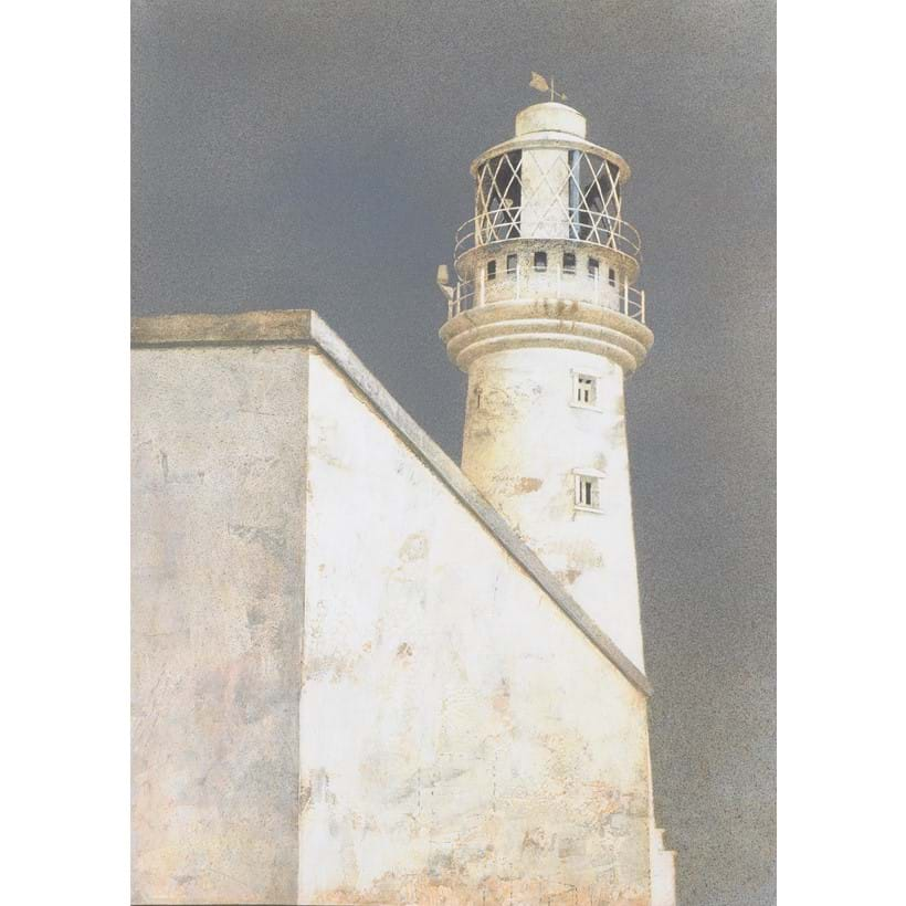 Inline Image - Lot 695: λ Maxwell Doig (British b. 1966) Flamborough Head, Lighthouse I Est. £5,000-7,000 (+fees)
