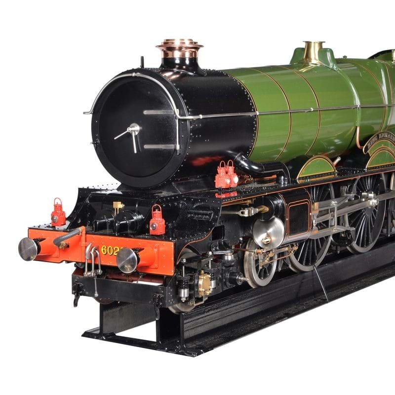 A fine exhibition standard 7 ¼ inch gauge model of a Great Western Railway King Class 4-6-0 tender locomotive No 6027 King Richard I