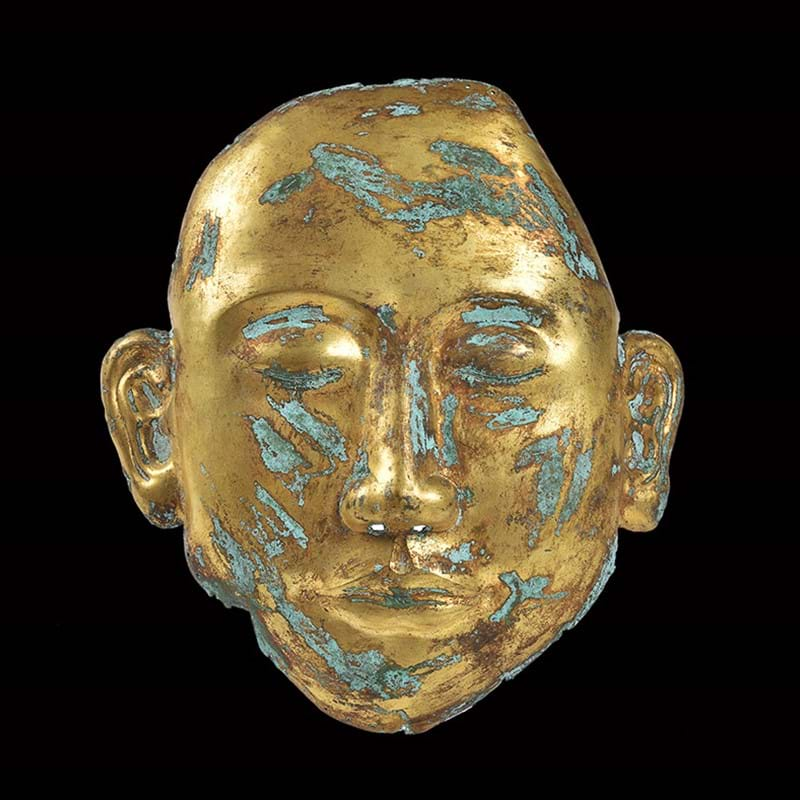 Funeral mask of Chinese nobleman to be sold in November's Chinese Ceramics auction