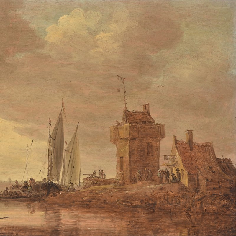 After nearly 90 years, a fine Van Goyen returns to the market