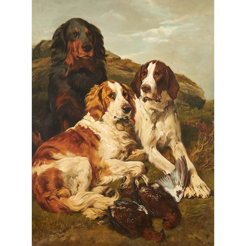 Inline Image - Lot 230, John Emms (British 1844-1912), August on the Moor, Oil on canvas, Est. £30,000-50,000 (+ fees)