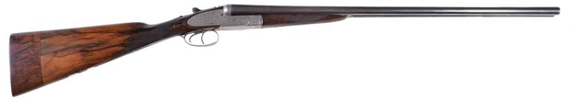 Inline Image - A J. Blanch & Sons double-barrelled 20-bore side-lock ejector shotgun, serial no. 6602 | Sold for £1,364