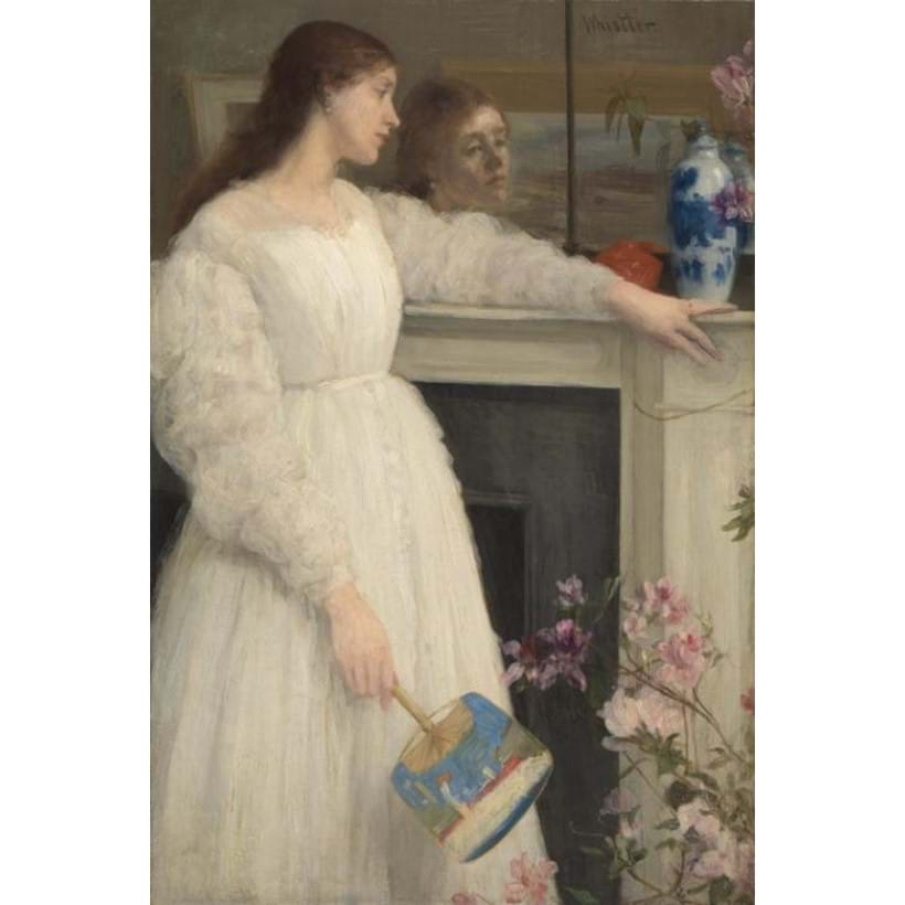 Inline Image - James Abbott McNeill Whistler, Symphony in White, No.2, 'The Little White Girl'. Image courtesy of the Tate, London