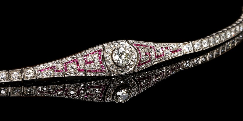 Inline Image - Lot 162: An early 20th century diamond and ruby bracelet, circa 1910 | Est. £2,000-3,000 (+fees)