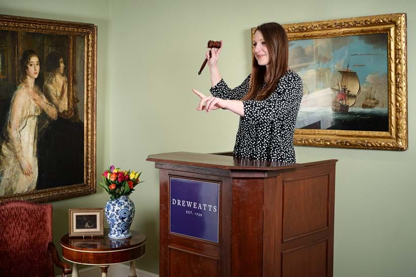 Inline Image - Lucy Gregory, Picture Specialist and Auctioneer