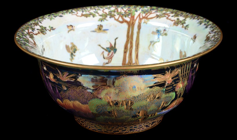 Inline Image - (Fig.3) Daisy Makeig-Jones for Wedgwood, a Fairyland Lustre bowl