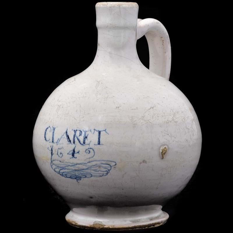 From a London Delft wine bottle dated 1642 to a St. Petersburg Imperial Porcelain Factory charge from the Kremlin Service | British and European Ceramic Highlights