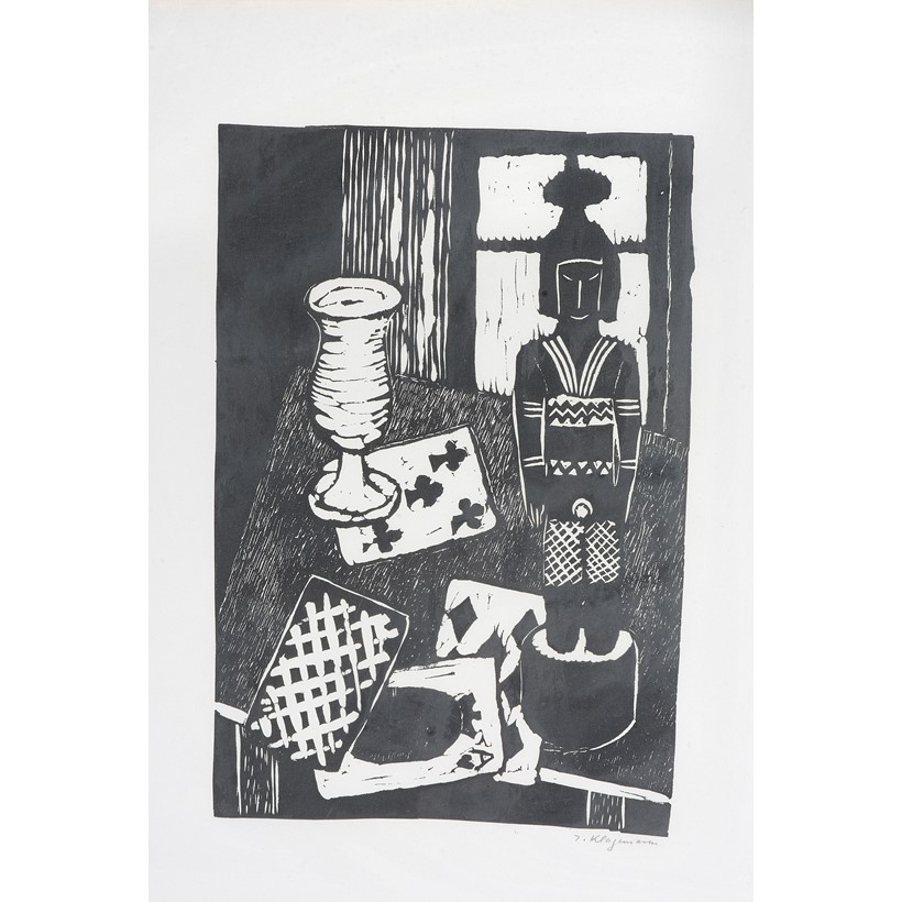 Inline Image - Lithograph, Signed in pencil lower right