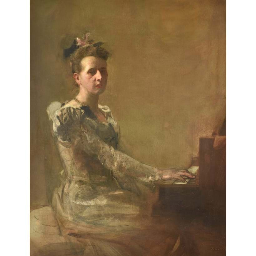 Inline Image - Sir James Guthrie (Scottish 1859-1930)