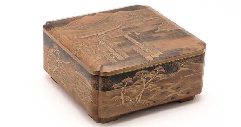 Inline Image - Lot 87: A Japanese Lacquer Box and Cover | Est. £1,000-1,500 (+fees)