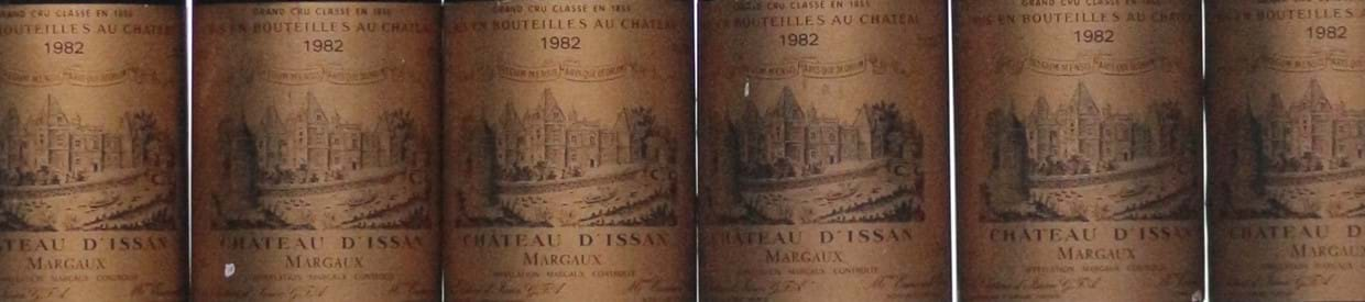 1982 Chateau D'Issan, Margaux | Fine and Rare Wine and Spirits, 17 September