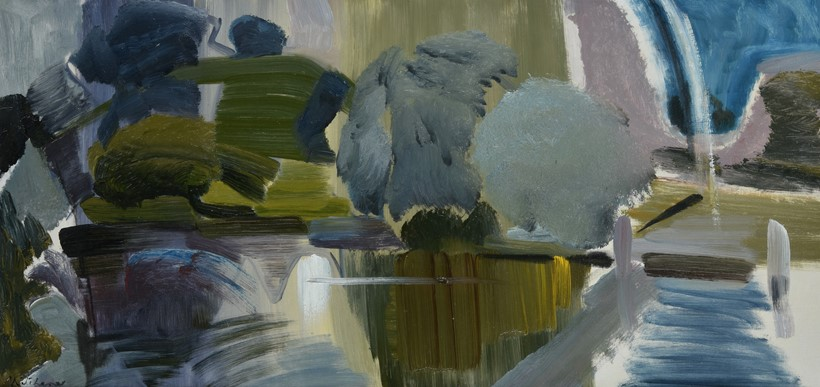 Inline Image - Lot 37: λ Ivon Hitchens (British 1893-1979), 'Wittenham Clumps from Day's Lock', Oil on canvas | Est. £30,000-50,000 (+fees)