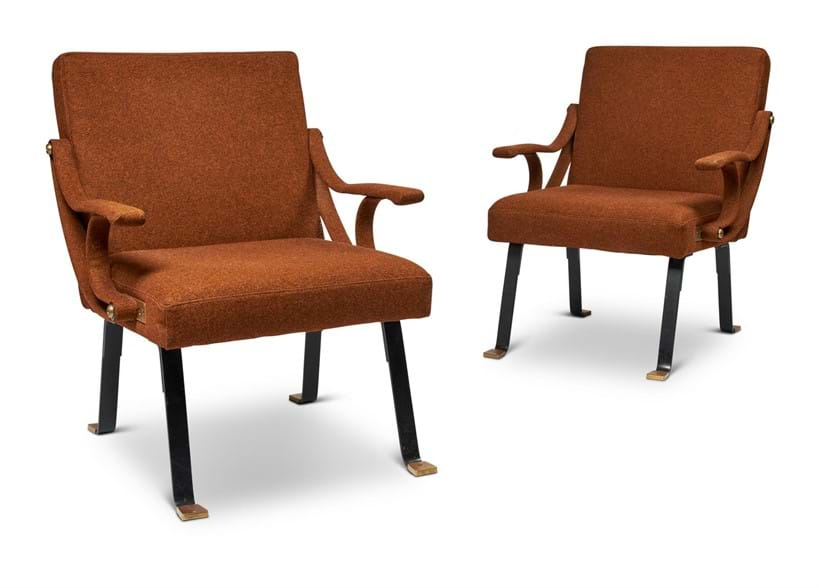 Inline Image - Lot 490: A PAIR OF RECLINING LOUNGE CHAIRS, LATE 20TH CENTURY | Est. £500-800 (+fees) | Sold for £9,375