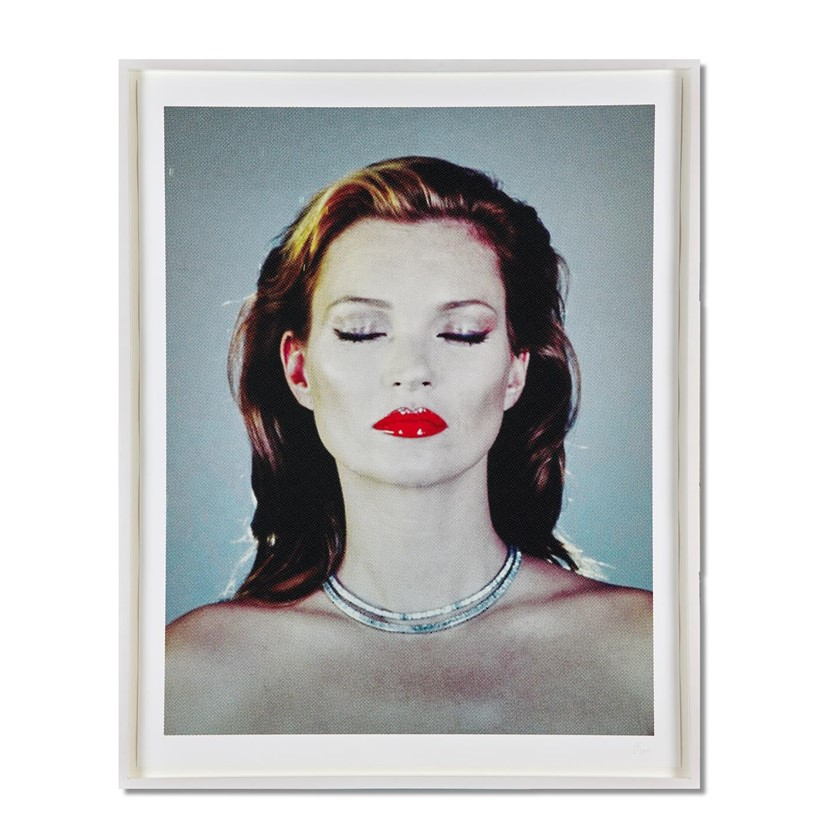 Inline Image - Lot 384: CHRIS LEVINE (BRITISH B. 1960), KATE MOSS, 2015 | Est. £30,000-35,000 (+fees) | Sold for £37,500