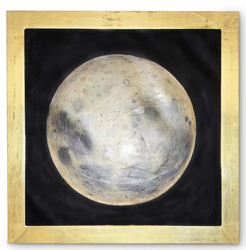 Inline Image - Lot 403: JAMES PERKINS (CONTEMPORARY), THE AYNHOE MOON | Est. £3,000-5,000 (+fees) | Sold for £17,500